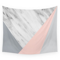 Society6 Scandi Collage Wall Tapestry