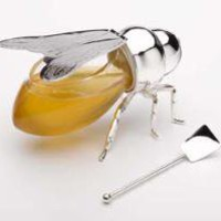 Silver Honey Bee available at Delight.com