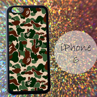 Bape Military Camouflage Camo Army Brown Green - cover case for iPhone 4|4S|5|5C|5S|6|6 Plus Note 2|3 Samsung Galaxy S3|S4|S5 Htc One M7|M8
