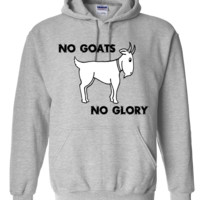 No Goats No Glory Men Who Stare At Goats Hoodie