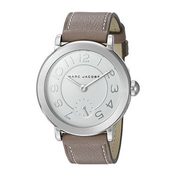 Marc Jacobs Riley Leather Three-Hand Watch