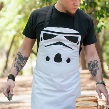 Star wars stormtropper inspired apron