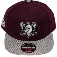 Anaheim Mighty Ducks Hatch Strapback
