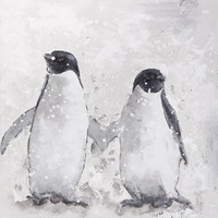 Penguin Pair Wall Decor