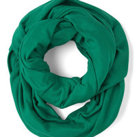 Start with the Basics Circle Scarf in Green | Mod Retro Vintage Scarves | ModCloth.com