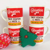 Carnation Hot Cocoa Mix Mugs