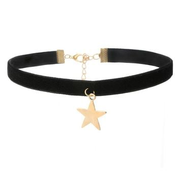 Star Gothic Choker Necklaces
