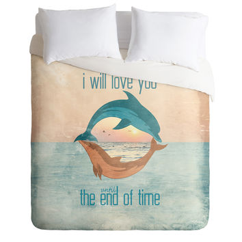 Belle13 Until The End Of Time Duvet Cover