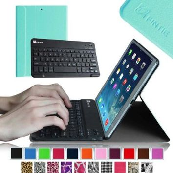 Fintie iPad mini 1/2/3 Keyboard Case - Blade X1 Ultra Slim Shell Lightweight Cover with Magnetically Detachable Wireless Bluetooth Keyboard for iPad mini 3 / iPad mini 2 / iPad mini 1, Magenta