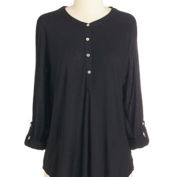 ModCloth Mid-length 3 Any and Every Way Top