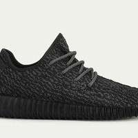 Yeezy Boost 350 Black Kanye West Inspired Sneakers