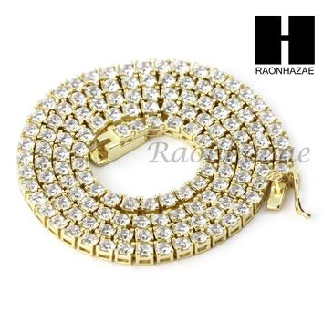 "925 STERLING SILVER TENNIS CHAIN DIAMOND CUT 17"" CUBAN LINK CHOKER NECKLACE S01"