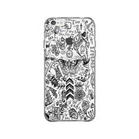 One Direction Tattoos iPhone 6 Plus Clear Case