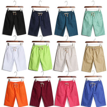 Outdoor Sports Plain Men Boy Board Surf Swimming Swim Beach Shorts Trunks Pants Holiday