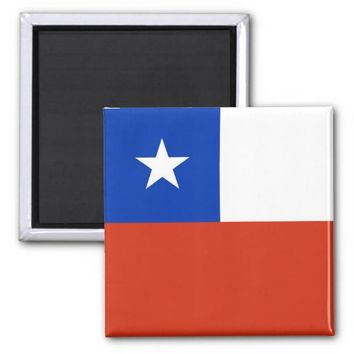 Magnet with Flag of Chile