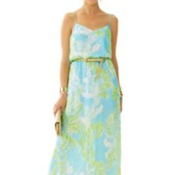 Deanna Spaghetti Strap Maxi Dress - Lilly Pulitzer