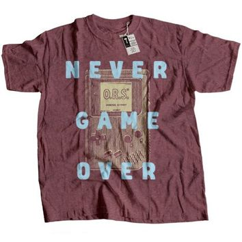 NEVER GAME OVER