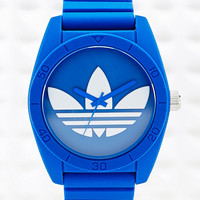 Adidas Large Santiago Watch in Blue - Urban Outfitters