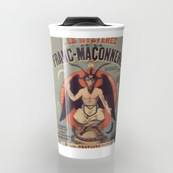 French Baphomet Travel Mug by Kathead Tarot/David Rivera