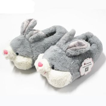 Thermal Bunny Cotton Slippers