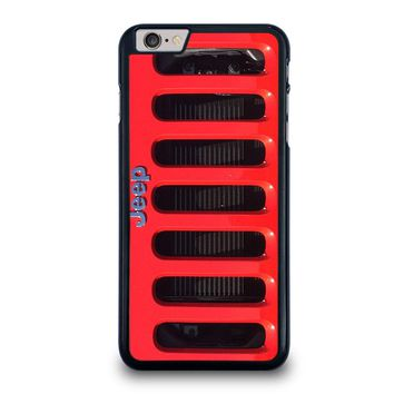 JEEP RED iPhone 6 / 6S Plus Case Cover