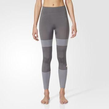 adidas Yoga Seamless Tights - Grey | adidas US