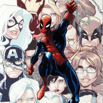 Amazing Spider Man #648 - Limited Edition Giclee on Stretched Canvas by Humberto Ramos and Marvel Comics