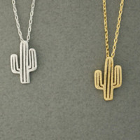 Cactus Country Girl Necklace