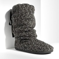 Simply Vera Vera Wang Tweed Lurex Boot Slippers