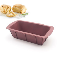 8-inch Large Silicone Mold Loaf Pan for Soap and Bread (colors at random)