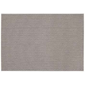 Balta William Lattice Indoor Outdoor Rug (Grey)
