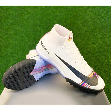 Nike Superfly 6 Elite CR7 TF Fashion Women Men Casual Sport Football Shoes Sneakers