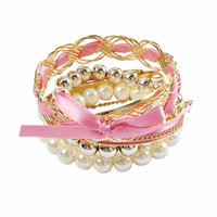 Multi Layers Pearl Beaded Bracelet