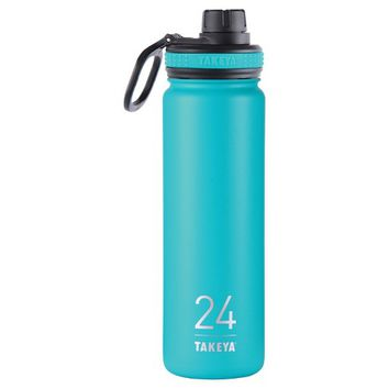 Takeya Originals 24oz Insulated Stainless Steel Water Bottle with Spout Lid