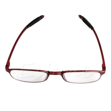 1pc Comfy TR90 Women Men Flexible Reading Glasses Readers Strength Presbyopic Glasses Diopter F05