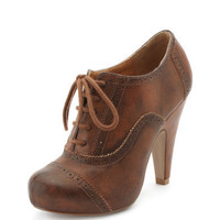 Charlotte Russe - Burnished Oxford Heel