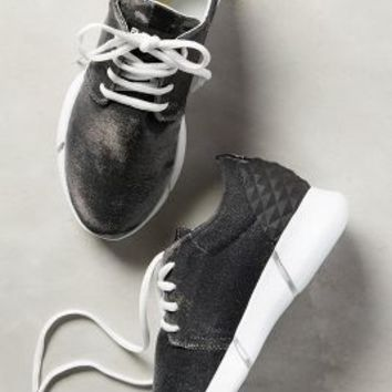 Elena Iachi Calu Shimmered Sneakers Carbon