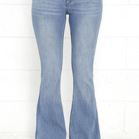 Dittos Amy Medium Wash High Rise Flare Jeans