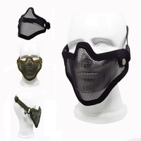Half face mask protector