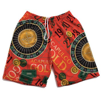 Monte Carlo Basketball Shorts Red