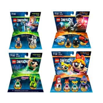Harry Potter Lego Dimension The Powerpuff Girls By LEGO Dimensions | Games Powerpuff Girls Team Pack Harry Potter Lego Dimension Team Pack Lego Dimensions