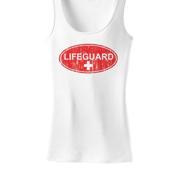 Lifeguard Womens Tank Top Shirt