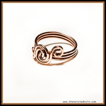 Handmade Copper Ring