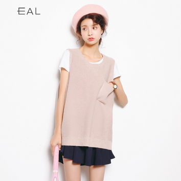 Knit Korean Women's Fashion Tops [6466230276]