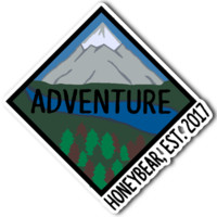 Mountain Adventure Sticker
