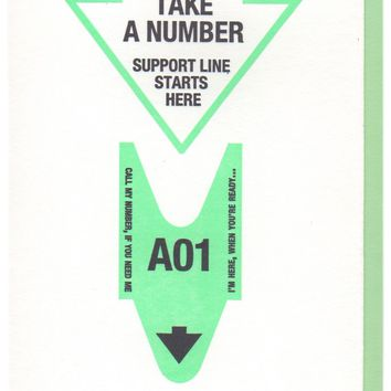 Support Line Starts Here Card