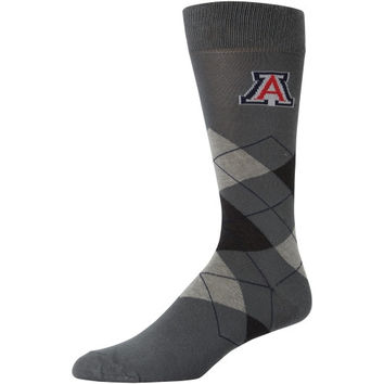 Arizona Wildcats Argyle Tube Socks