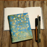 cherry blossom journal - inspire travel vacation journal gift by tremundo