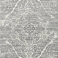 2046 Silver Distressed Oriental Area Rugs