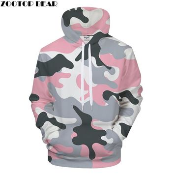 Pink Camo 3DPrint Hoodies Men S Clothing Women Sweatshirt Casual Tracksuit Groot Jacket Hoodie Coat Pullover Dropship ZOOTOPBEAR